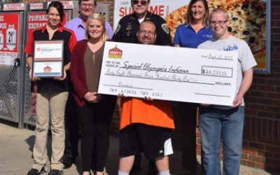 Casey's General Stores and Coca-Cola Raise More Than $48,000 in Support of Special Olympics Indiana
